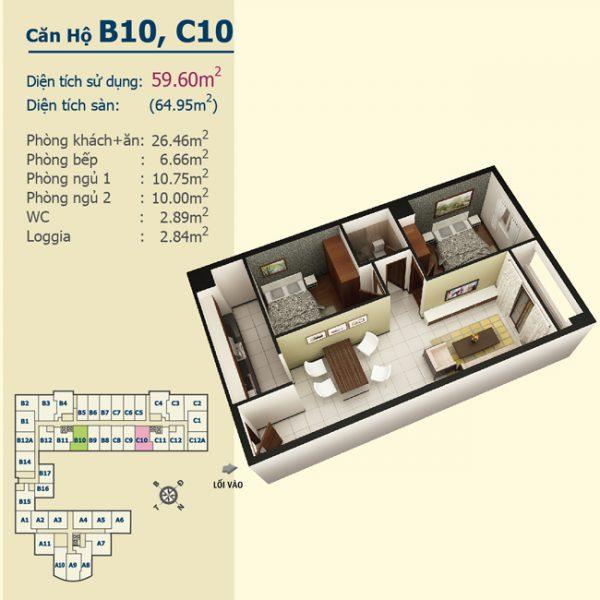B10C10
